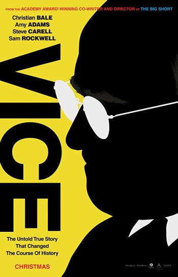 Poster for the 2018 film Vice